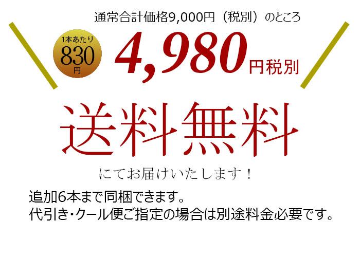 ボルドー金賞受賞6本セット